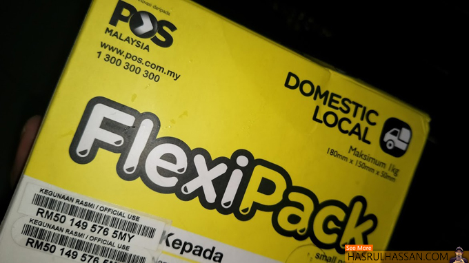 Flexipack Pos Malaysia Untuk Usahawan Bisnes Online