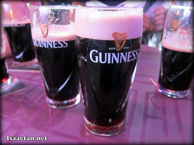 Drink up, with free flow of Guinness to unwind with friends