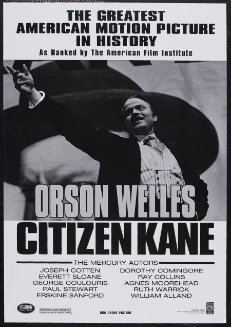 citizen kane, directed by orson welles