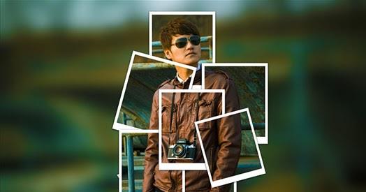 Tutorial Efek Foto Kotak Kolase Collage Of Polaroids Di Photoshop