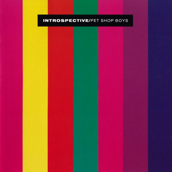 Encarte: Pet Shop Boys - Introspective