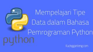 Mempelajari Tipe Data dalam Bahasa Pemrograman Python
