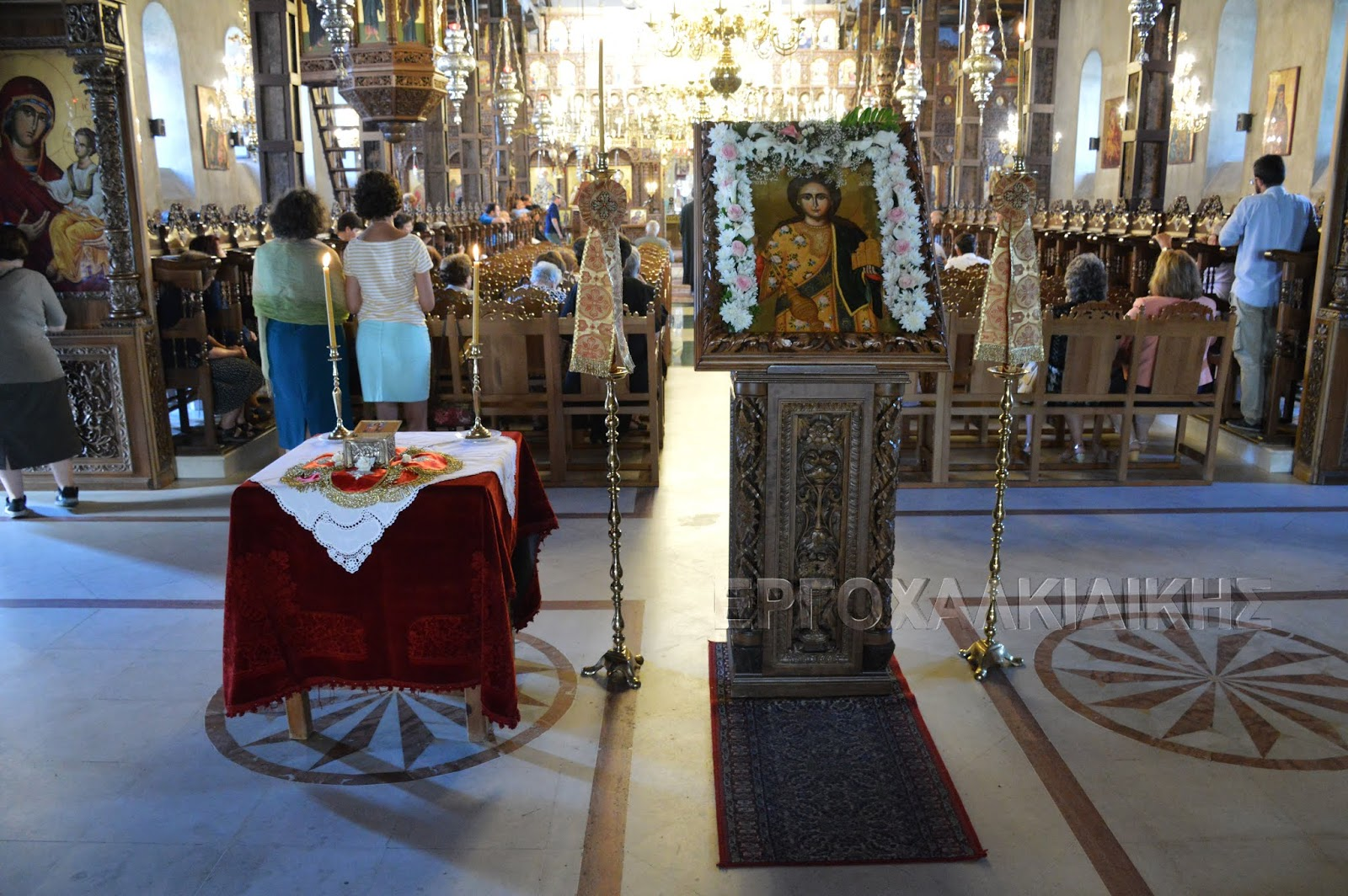 Ο εορτασμός της  ανακομιδής των ιερών λειψάνων του Αγίου Στεφάνου του ''Μελισσά''στην Αρναία (βίντεο φώτο)