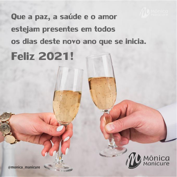 Mônica Manicure | Mensagem de Ano Novo