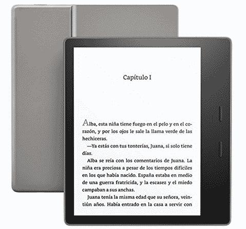 Especificaciones más importantes del lector electrónico Kindle Oasis