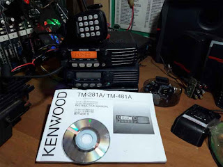 Manual Book atau Buku Panduan Radio RIG Kenwood TM-271A/TM-281A