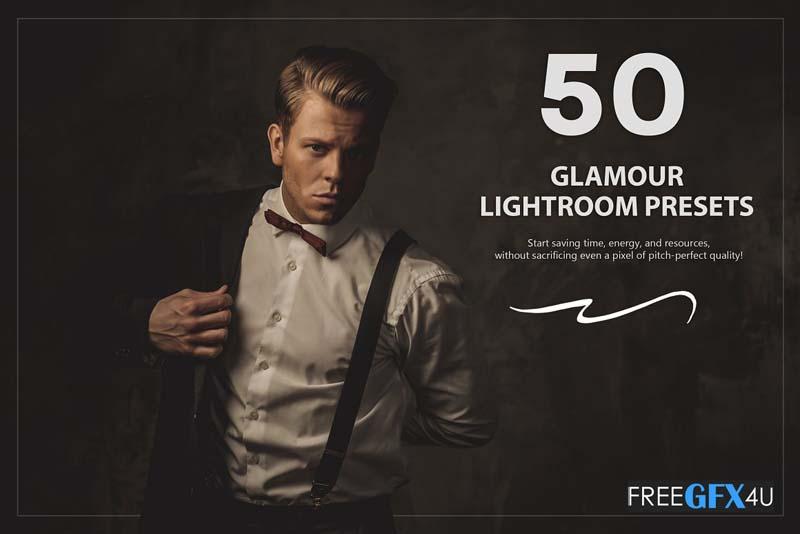 50 Glamour Lightroom Presets