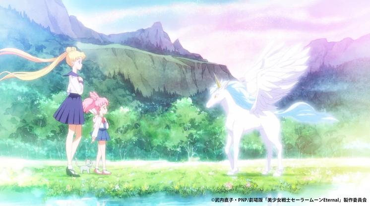 Potongan Gambar Dari Anime Film Sailor Moon Eternal Telah Dirilis