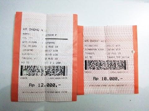 Double Ticket Kereta Api