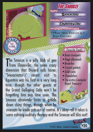 My Little Pony The Smooze Series 4 Trading Card