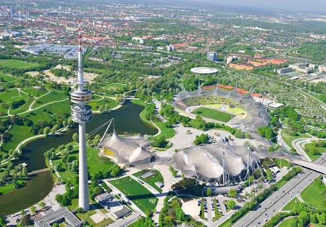 Olimpiapark em Munique