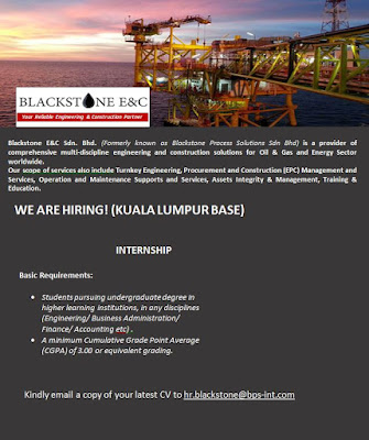 Blackstone malaysia jobs