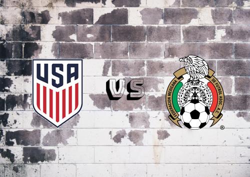 Estados Unidos vs México  Resumen y Partido Completo
