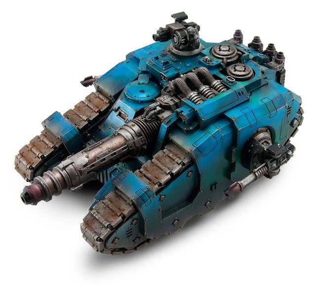 8th Edition: Imperial Armour Focus- Sicaran Venator Tank Destroyer