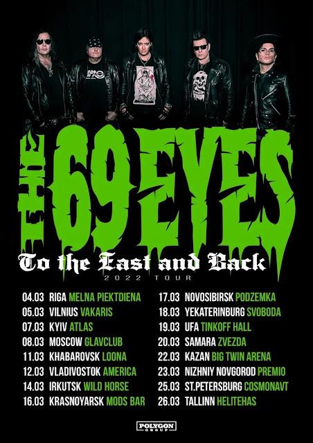 The 69 Eyes в России