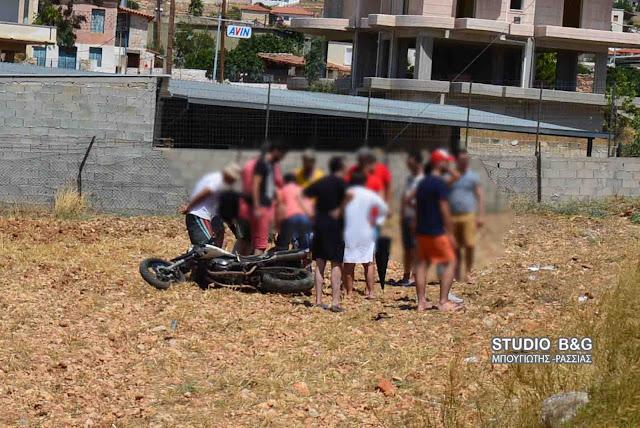 Αργολίδα: Τροχαίο ατύχημα με μηχανή στην Προσύμνη