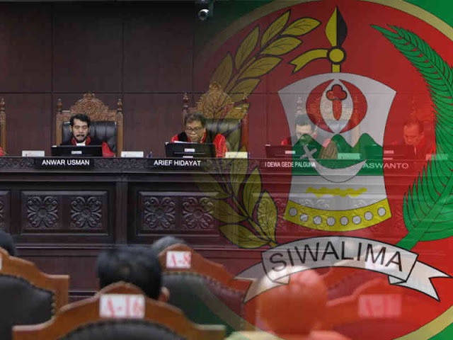Mahkamah Konstitusi Tolak Permohonan Hebat