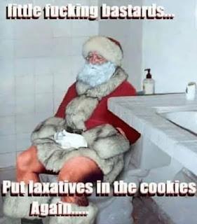 Christmas, Santa Claus, Diarrhoea Meme