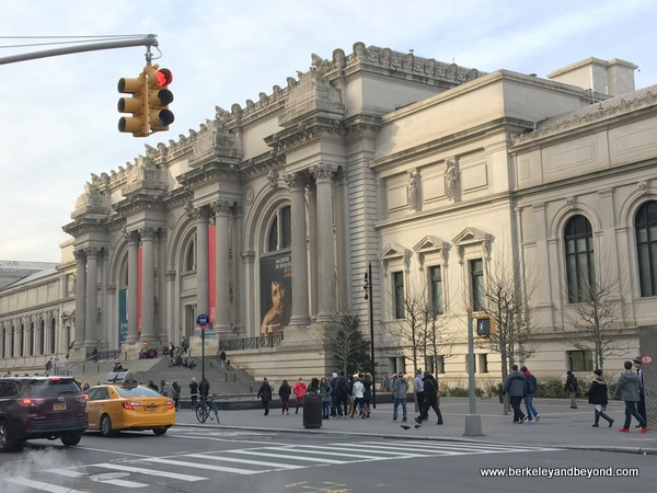 exterior of Metropolitan Museum of Art in NYC