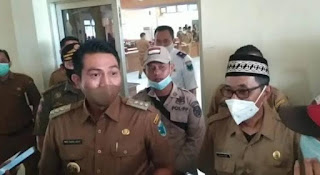 Bupati Fadhil Arief Himbau Masyarakat yang Lakukan PSU Pilgub di Batanghari untuk Mematuhi Prokes Covid-19