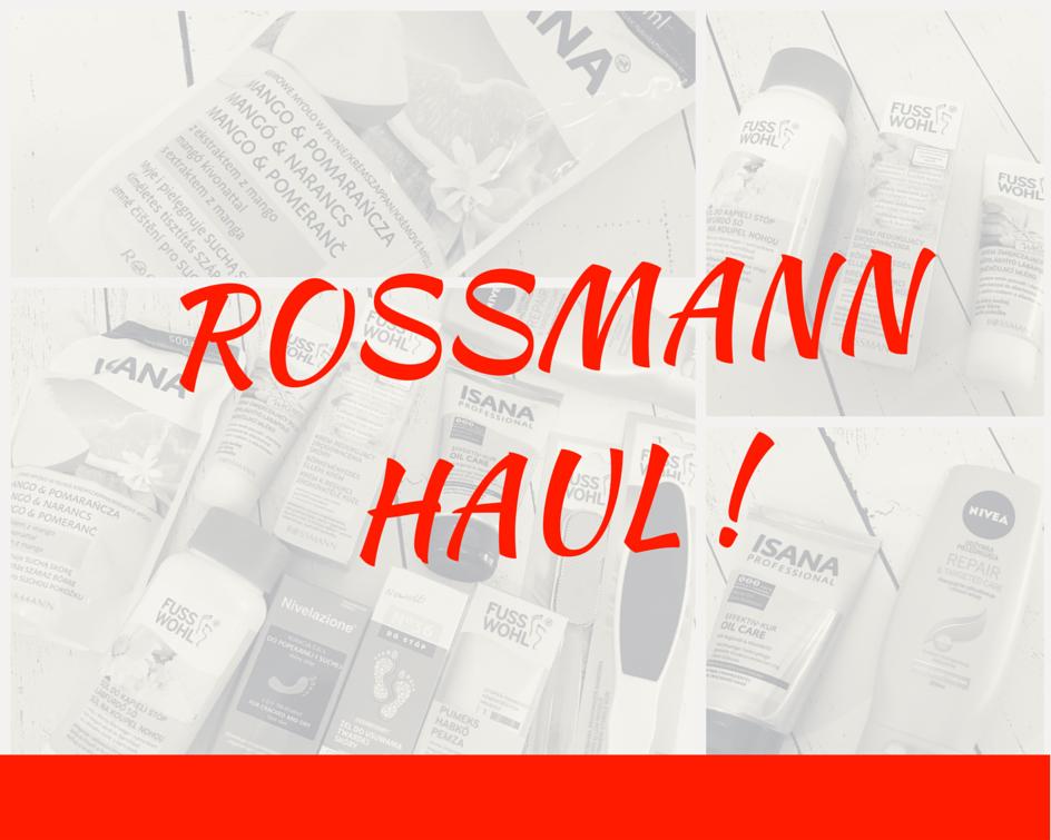 ROSSMANN HAUL