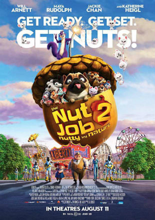 The Nut Job 2 Nutty By Nature 2017 BRRip 280MB English 480p ESubs Watch Online Free Download bolly4u