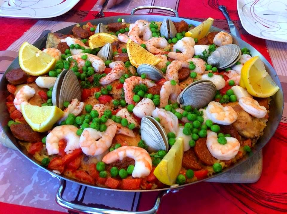 La cuisine de nathalie paella for Cuisine 101 incorporated