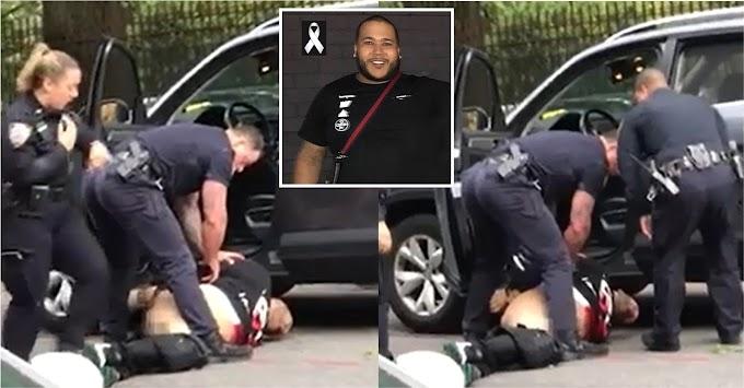 VIDEO: Sargento que mató dominicano en El Bronx le bajó pantalones y lo esposó después de muerto; familia dice lo trataron  como un perro