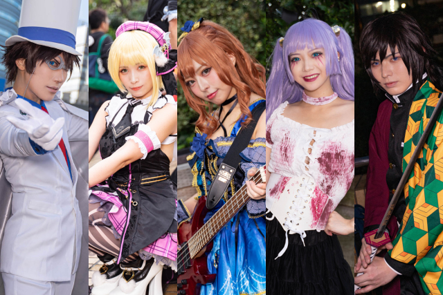 Cosplayer Terbaik di Ikebukuro Halloween Cosplay Fest 2019