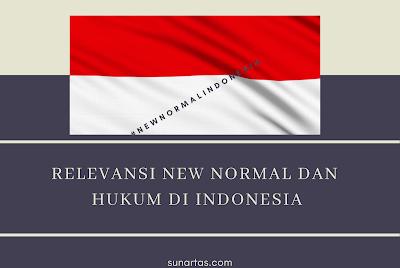 Relevansi New Normal dan Hukum di Indonesia