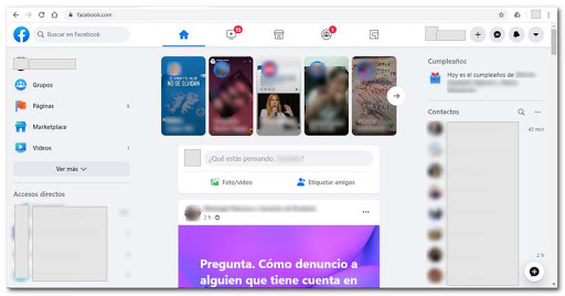 Nuevo Facebook 2020