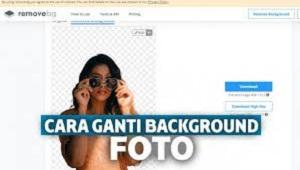 Cara Ganti Background Foto Online