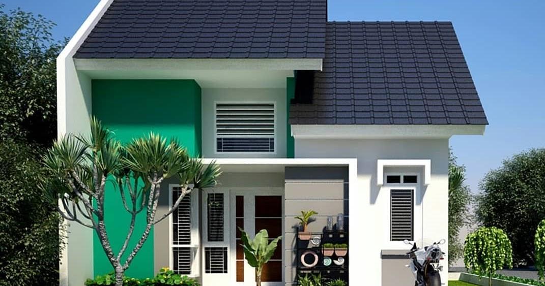 Desain Dan Denah Rumah Mungil 3 Kamar Tidur Tanah 70 M2 Ruangnya Terasa Nyaman Homeshabby Com Design Home Plans Home Decorating And Interior Design