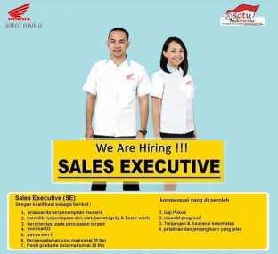 Lowongan Kerja Sales Executive di Astra Motor Daya