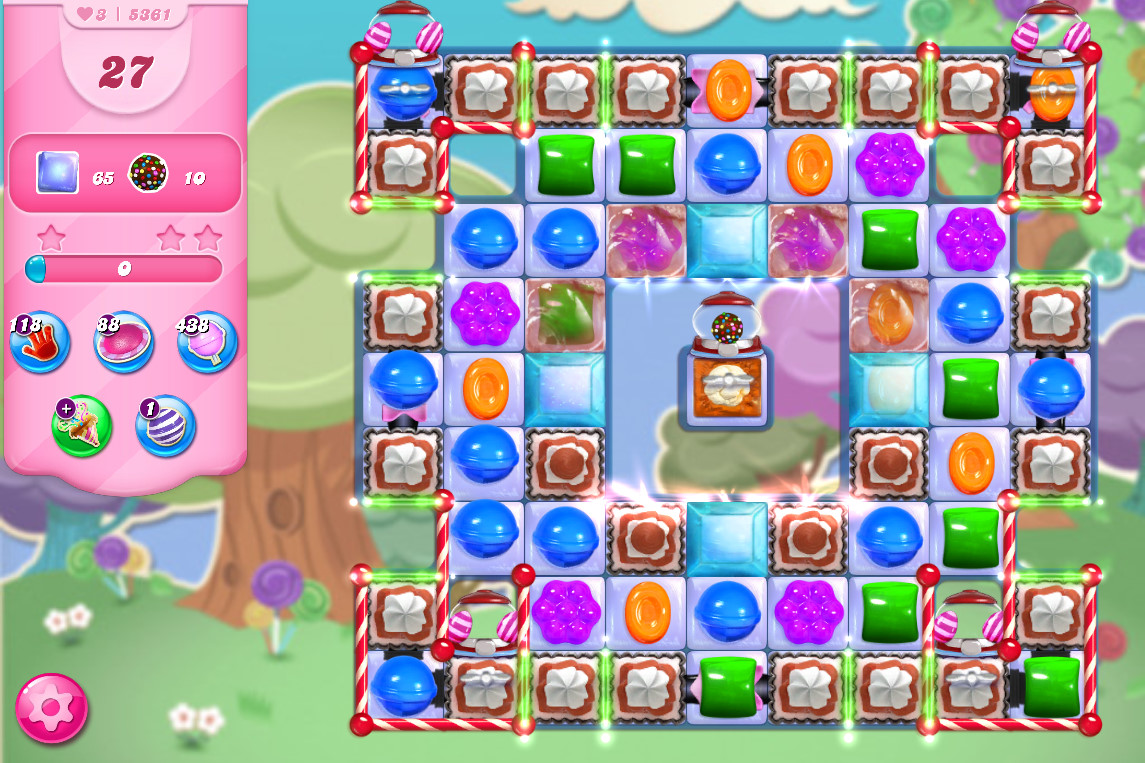 Candy Crush Saga level 5361