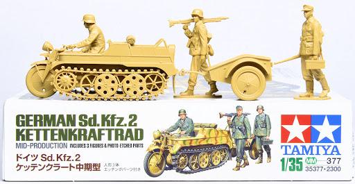 Build Review: Tamiya's 1/35th scale German Sd.Kfz.2 Kettenkrad