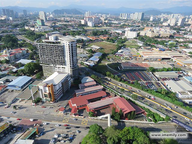Riana Dutamas surrounded by KL Metropolis, Bukit Tunku, Mont' Kiara, Sri Hartamas and Dutamas