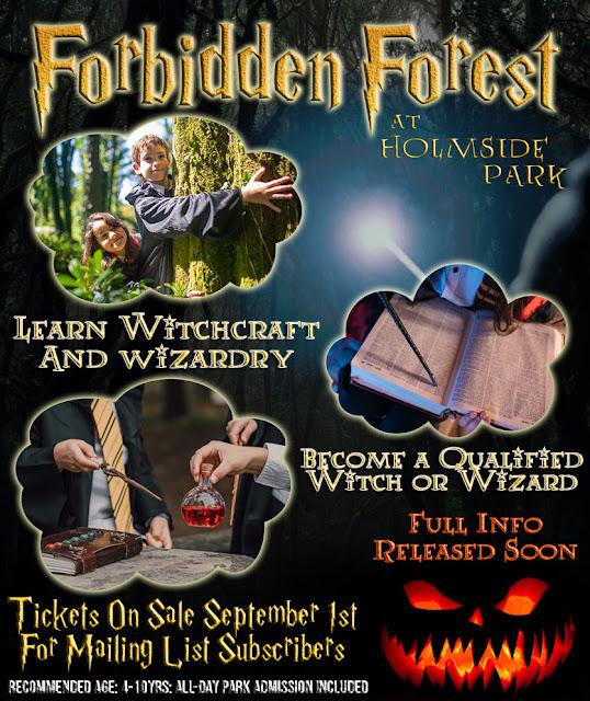 North East Halloween Events 2021  - Holmside Park