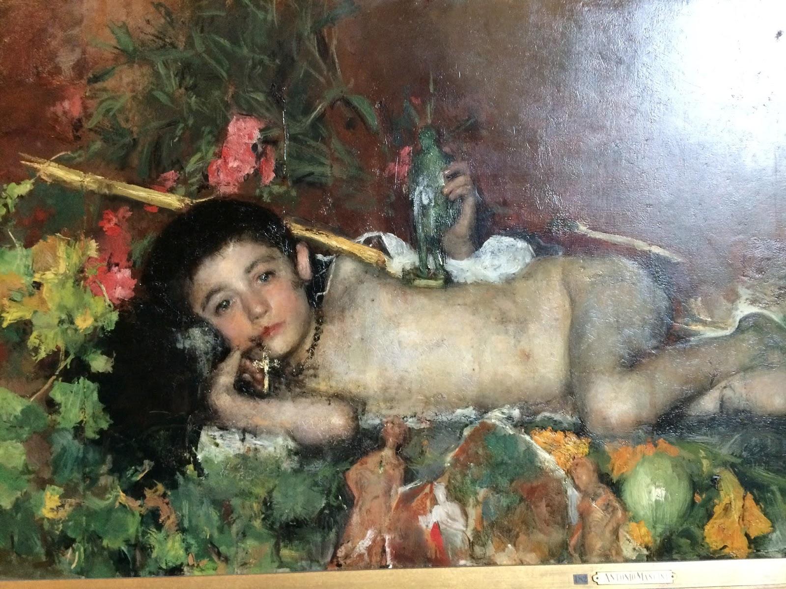 Antonio Mancini   artnet