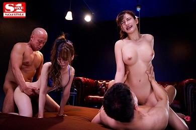 SSNI-787 Marin Hinata and Maron Natsuki have sex together with a healthy young man