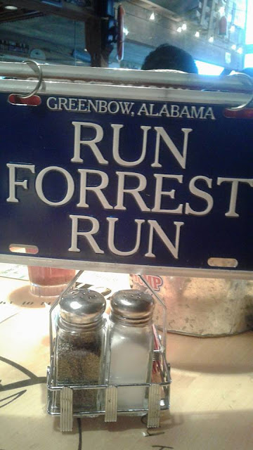 Run Forrest Run at Bubba Gump Shrimp Co