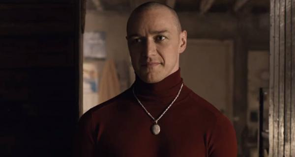 "James McAvoy en ""Múltiple"" (Split)"