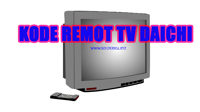 Kode Remot tv Daichi