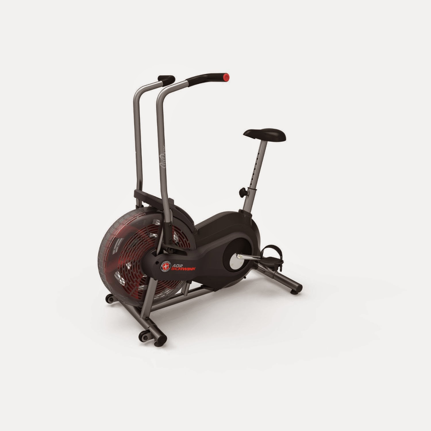 Schwinn AD2 Airdyne Exercise Bike in Black, picture, image, new black color now available, air exercise bike, review features & specifications