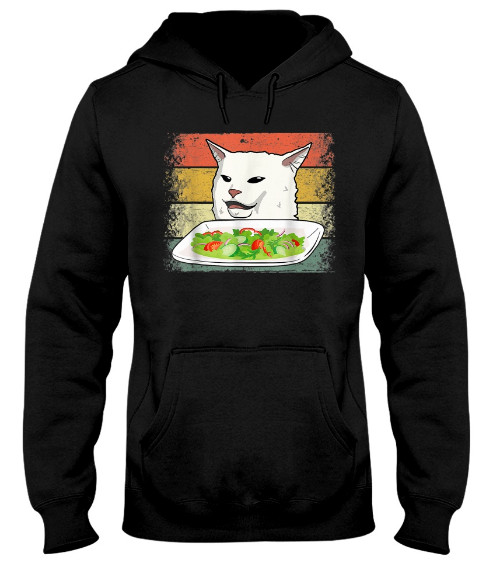 Retro Smudge The Cat Sarcastic Hoodie, Retro Smudge The Cat Sarcastic Sweatshirt, Retro Smudge The Cat Sarcastic T Shirt
