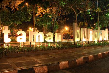 7 Keindahan Tempat Wisata di Surabaya yang Wajib Dikunjungi,Taman Bungkul