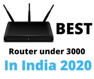 Router under 3000