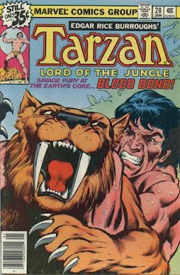 Tarzan, Lord of the Jungle #20, Marvel Comics