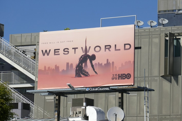Westworld season 3 billboard