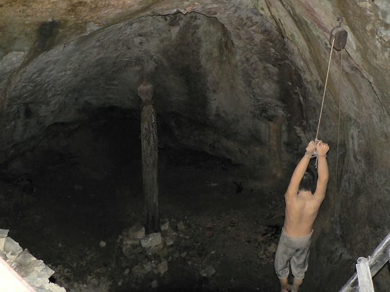 Predjama Castle - Torture Chamber